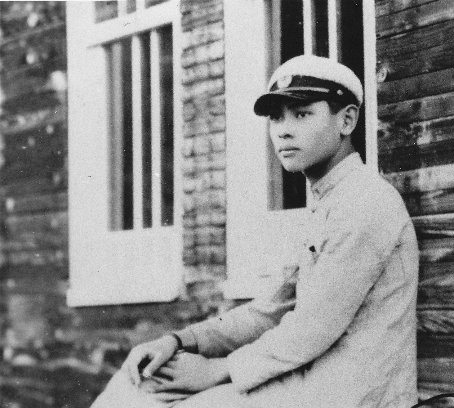 浜松工業学校時代の木下惠介